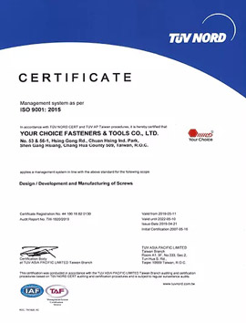 ISO 9001 : 2015 Quality System Approved