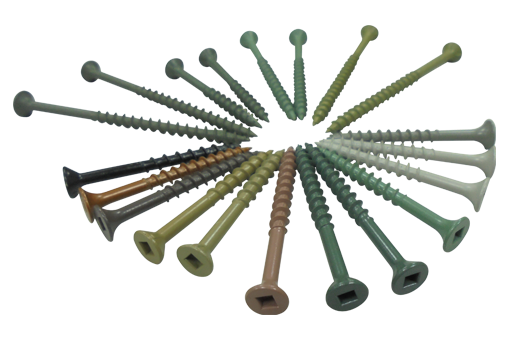 deck screws, composite deck screws, stainless steel deck screws