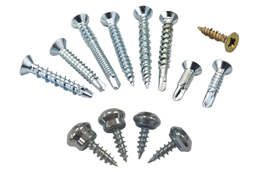 window screws, window fixing screws, window frame screws, window handle screws, pvc screws